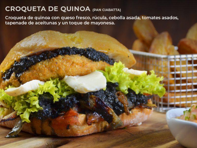 Croqueta de Quinoa